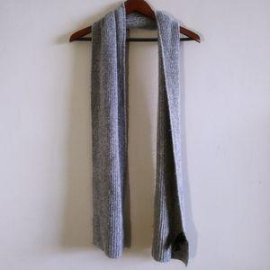 Basic Long Gray Scarf